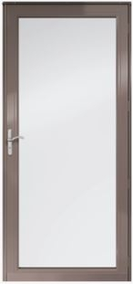 "STORM DOOR right BRONZE 37"" X 83 1/2"""